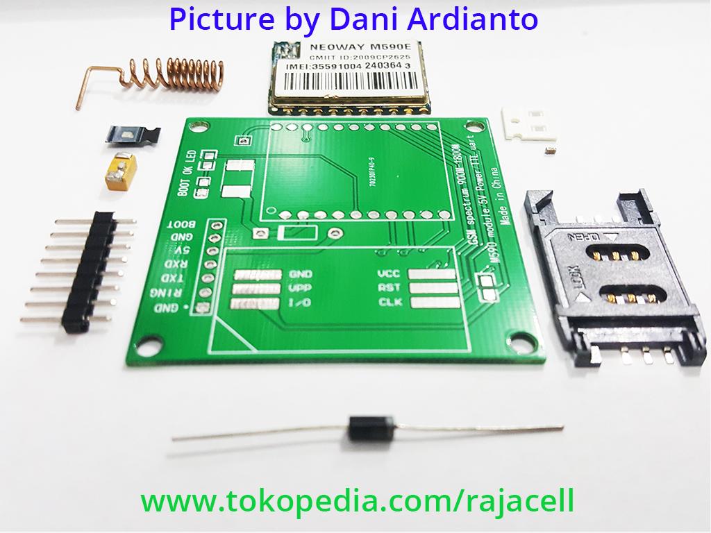 M590E GSM GPRS module 900m-1800m for SMS Arduino