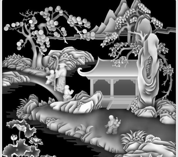 Tranh 3D Phong Cảnh Free