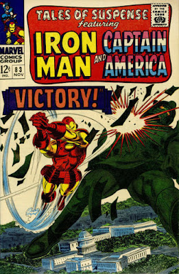 Tales of Suspense #83, Iron Man vs Titanium Man