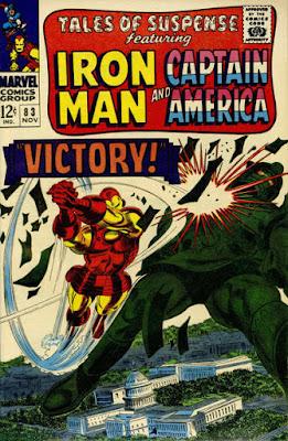 Tales of Suspense #83, Iron Man vs Titanium Man