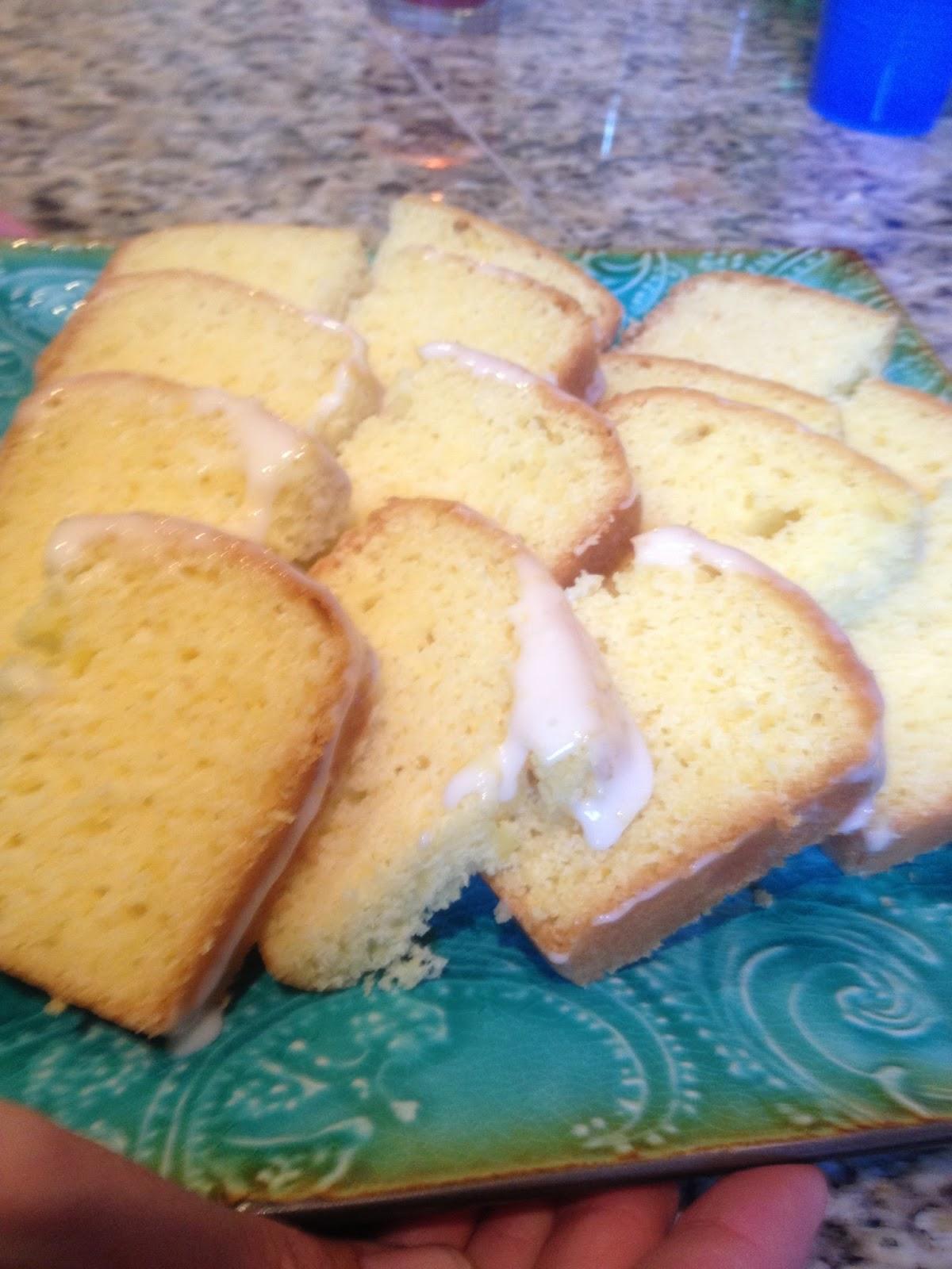 Flannery Kitchen Lemon Pound Cake With Lemon Glaze