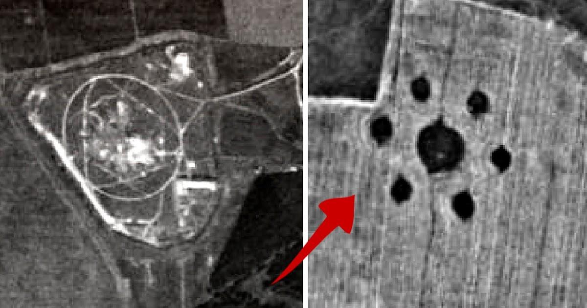 1968 г. фото со спутника-шпиона ЦРУ: ГЭС, Тольятти ...