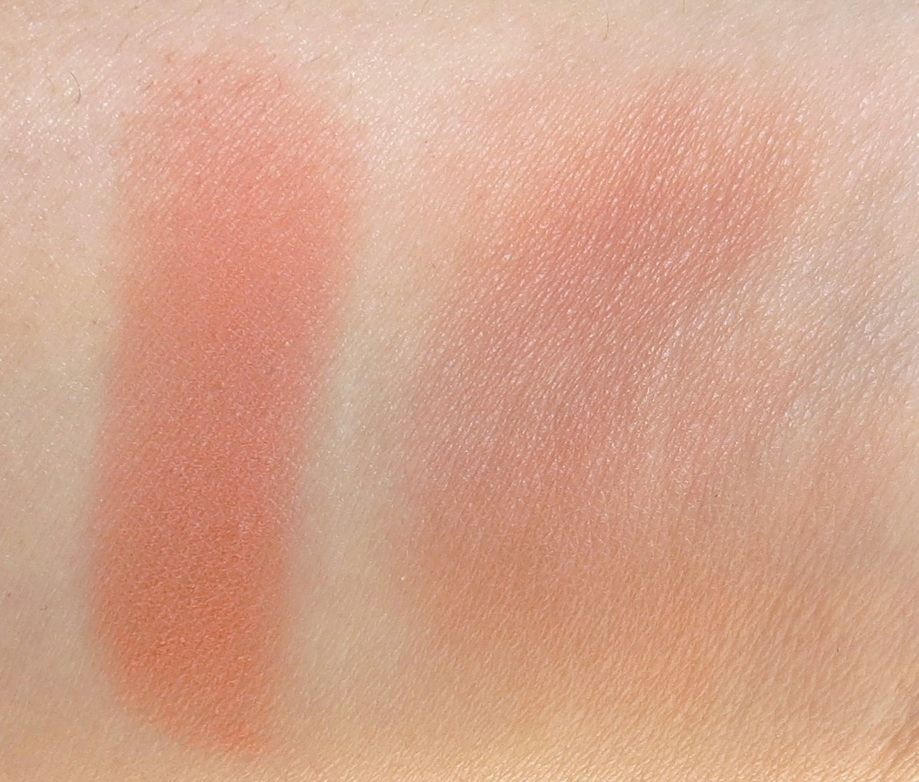MAC Peaches Sheertone Blush Review & Swatches - My Face Hunter