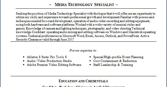 Senior Food Operations Manager Sample Resume Format In Word Free Download