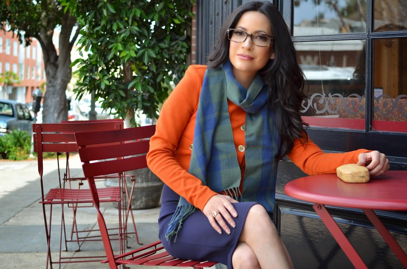 2117a49a538 Firmoo Eyewear Firmoo.com Global Online Optical Store Orange H M Jacket  Armani Exchage Navy Blue