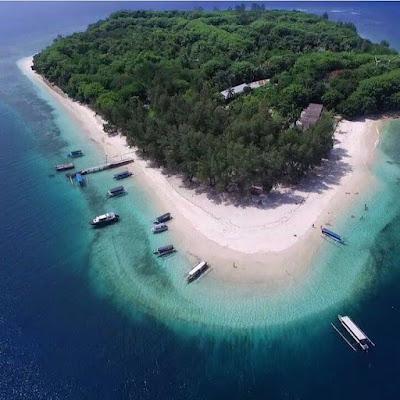 Keindahan Gili Nanggu di Pulau Lombok