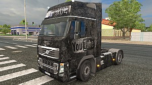 YouTube Grunge Volvo skin