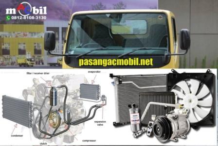 ac mobil canter sistem pendingin,, blower ac canter, kompressor ac canter