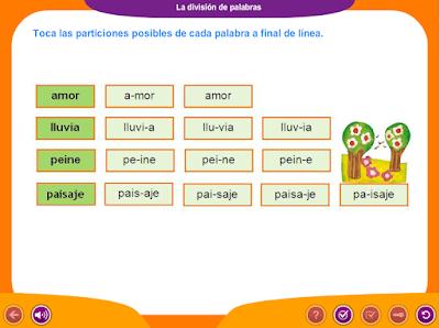 http://ceiploreto.es/sugerencias/juegos_educativos_2/9/La_division_de_palabras_1/index.html