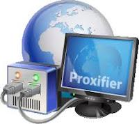 Aplikasi internet gratis, proxifier