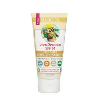 Badger broad spectrum SPF- 30 Zinc Oxide Sunscreen
