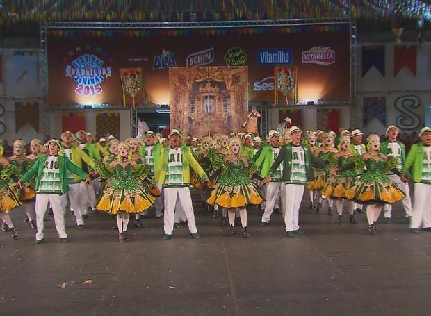 Festival de Quadrilhas Juninas da Globo tem 56 grupos inscritos