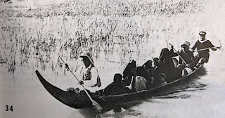 Madan boat carrying a load of passengers