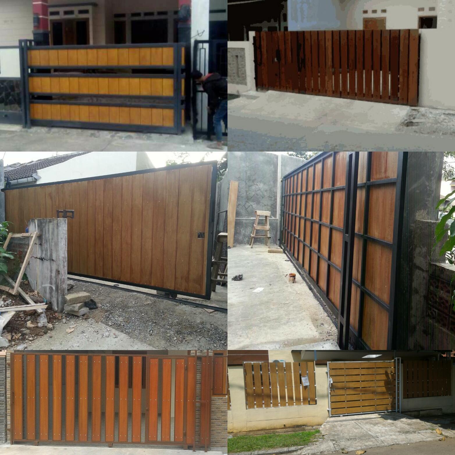 Pintu Pagar Besi Jasa Pembuatan Dan Pemasangan Kanopi Tangerang