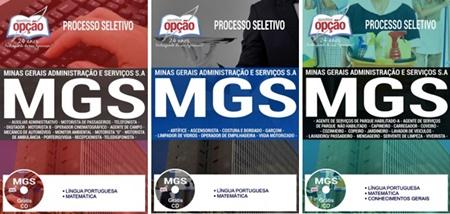 Apostila Concurso MGS 2017