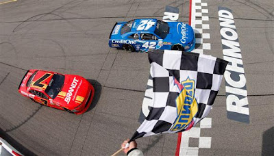Justin Allgaier Win Second NASCAR Xfinity Series 'Dash 4 Cash'