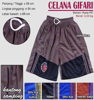 Celana pendek pria (kolor) - gifari