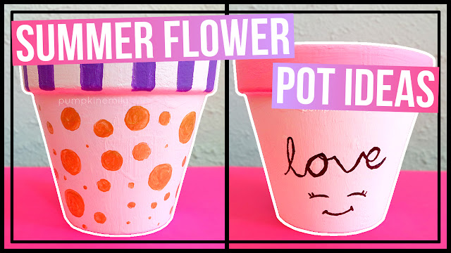 3 Summer Flower Pot Ideas