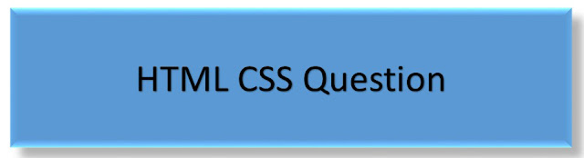 HTML CSS Border  Questions