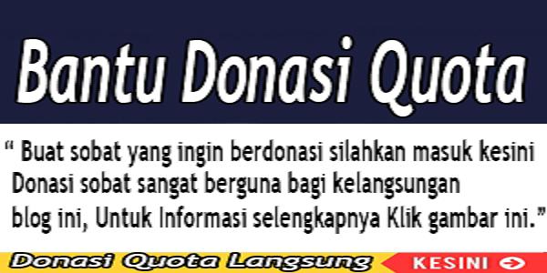 Bantu Donasi Admin