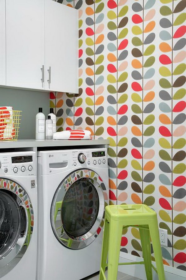 Creative Laundry Rooms Decor Ideas - Room Organization Ideas 11