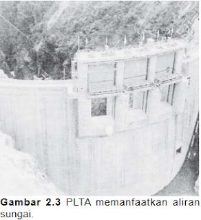 Pemanfaatan sungai sebagai PLTA