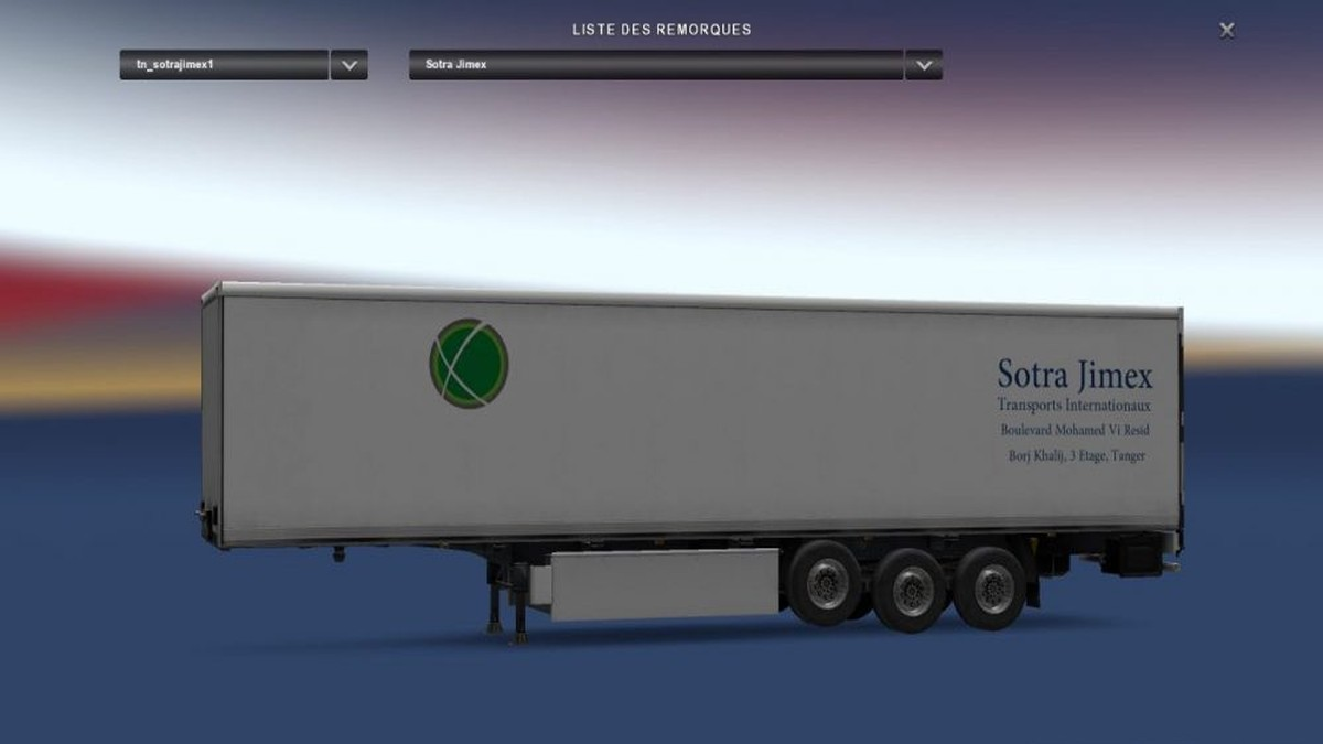 SotraJimex Krone Fridge Trailer