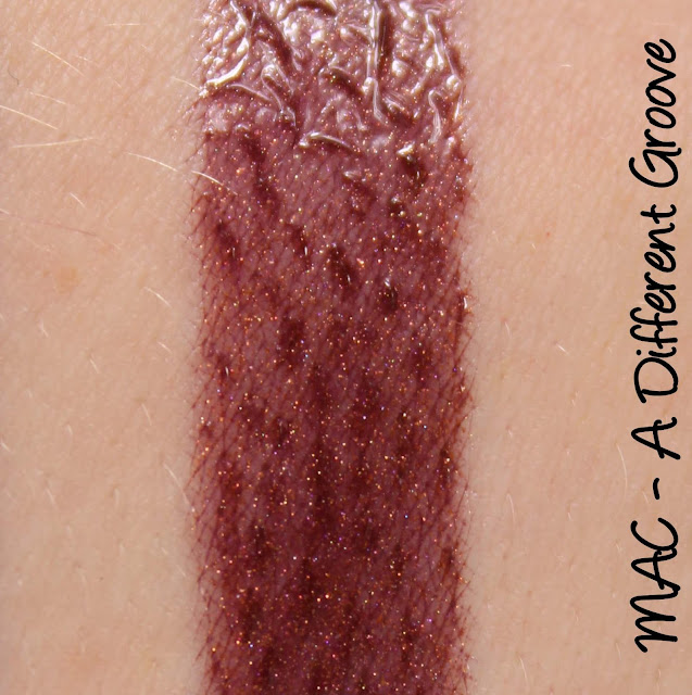 MAC MONDAY   Give Me Liberty of London - A Different Groove Lipglass Swatches & Review