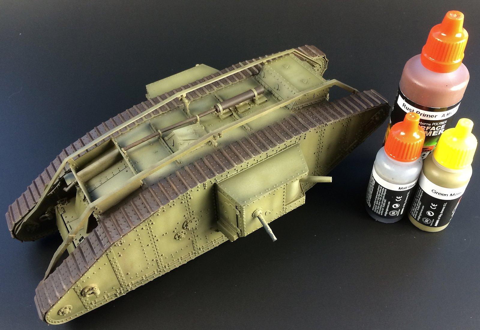 The Modelling News Takom Wwi British Mk Iv Male Part 2