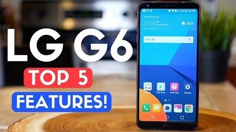 LG G6 Review: TOP 5 FEATURES! Best Smartphone of 2017