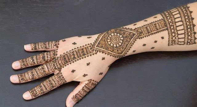 Bridal Mehandi Designs for Hands 5