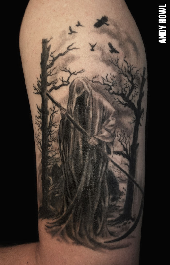 death tattoo designs for men - photo #8