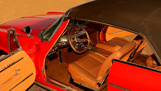 1962 Chrysler 300H Convertible Interior