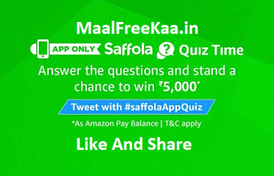 Saffola Quiz Time