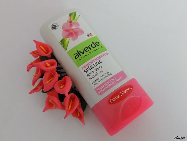 Odżywka do włosów suchych i zniszczonych aloes i hibiskus, Alverde