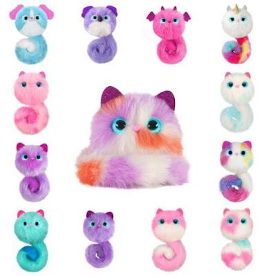 Все игрушки из серии Pomsies