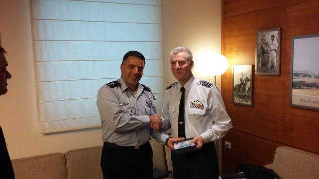 Ο Αρχηγός ΓΕΑ στο Ισραήλ - Με ποιους συναντήθηκε - ΦΩΤΟ