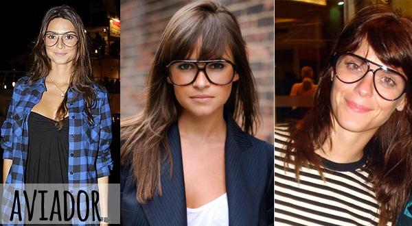 Resultado de imagem para óculos de grau retro aviador feminino