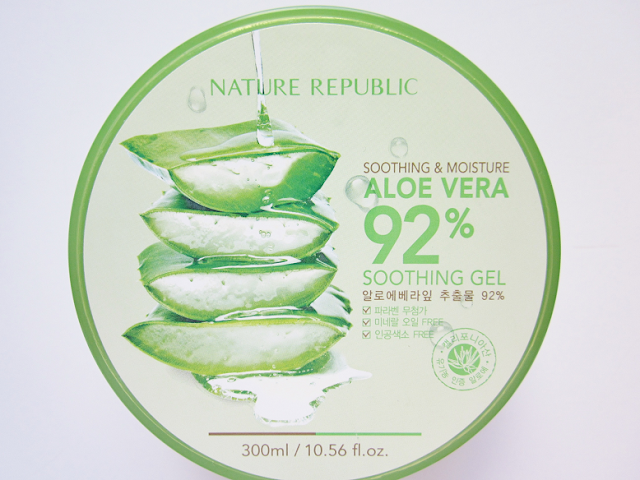 Nature Republic Aloe Vera Soothing Gel Beauty Review