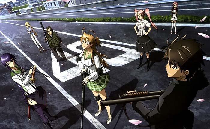 High%2BSchool%2Bof%2BThe%2BDead OSR 10 Daftar Anime Bertema Zombie Paling Seru