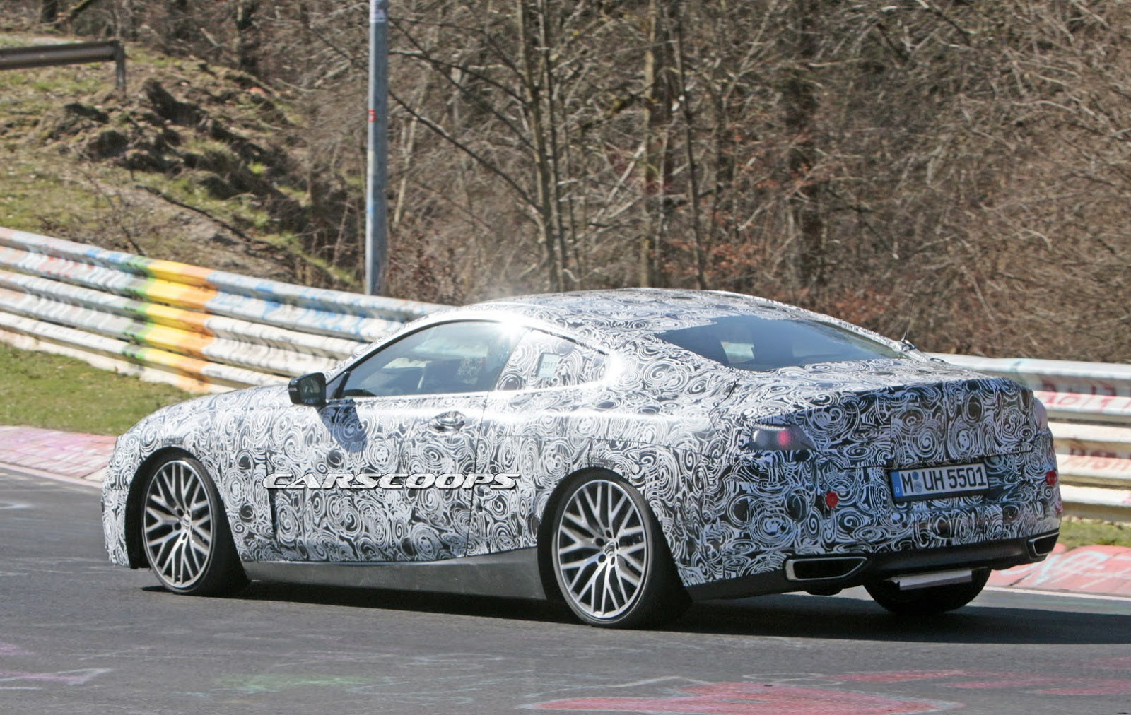 New BMW M8 Super Coupe Spotted Flexing 600HP At The Ring