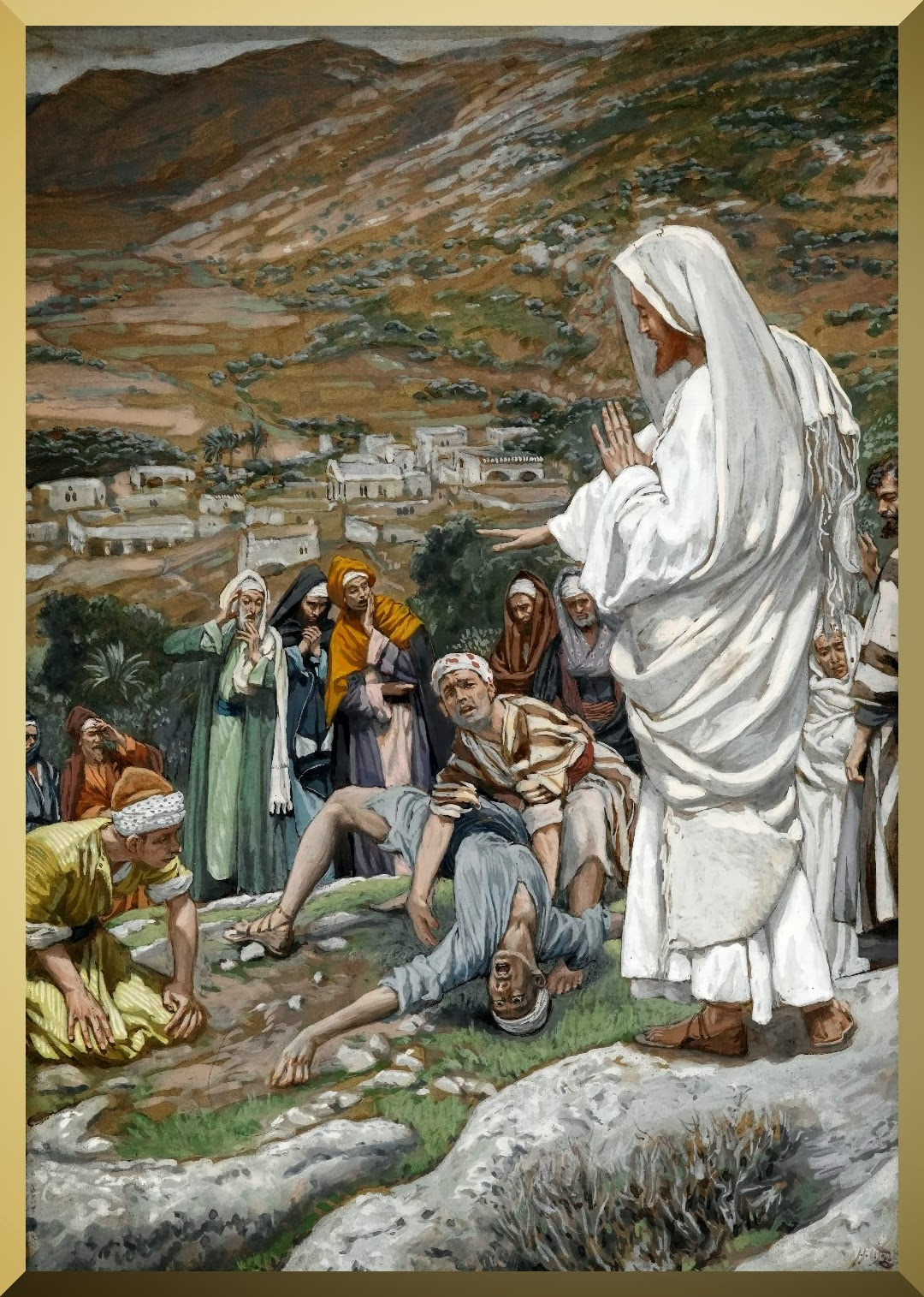 """The Possessed Boy at the Foot of Mount Tabor"" -- by James Tissot.jpg"
