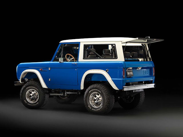 Kelly's 1974 Coyote Bronco by Maxlinder Brothers Customs