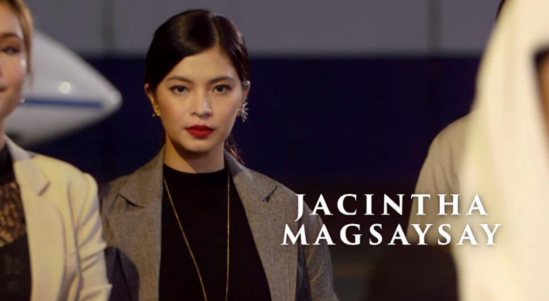fashion pulis insta scoop angel locsin as jacintha magsaysay in la luna sangre. Black Bedroom Furniture Sets. Home Design Ideas