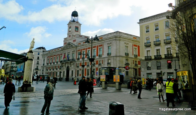 Porta do Sol, Madri, Espanha