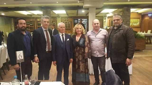 Πρέβεζα: Αντιπροσωπεία του Επιμελητηρίου Πρέβεζας παρέστη στην κοπή πίτας του Επιμελητηρίου Ιωαννίνων