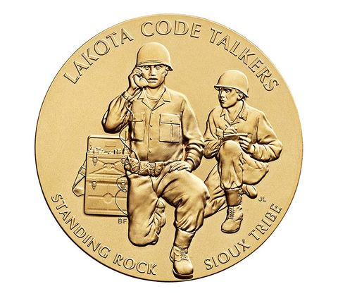 white wolf lakota wwi code talkers receive congressional