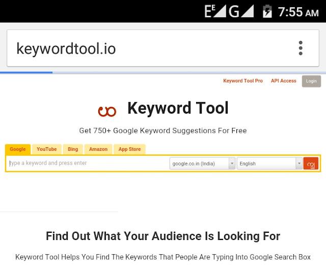 keyword kaise search kare
