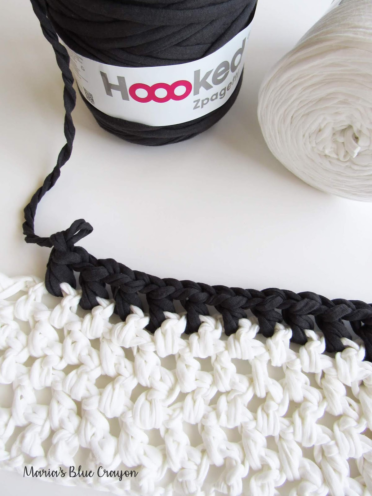 Hoooked Zpagetti Yarn Review Plus Free Crochet Rug Pattern Marias
