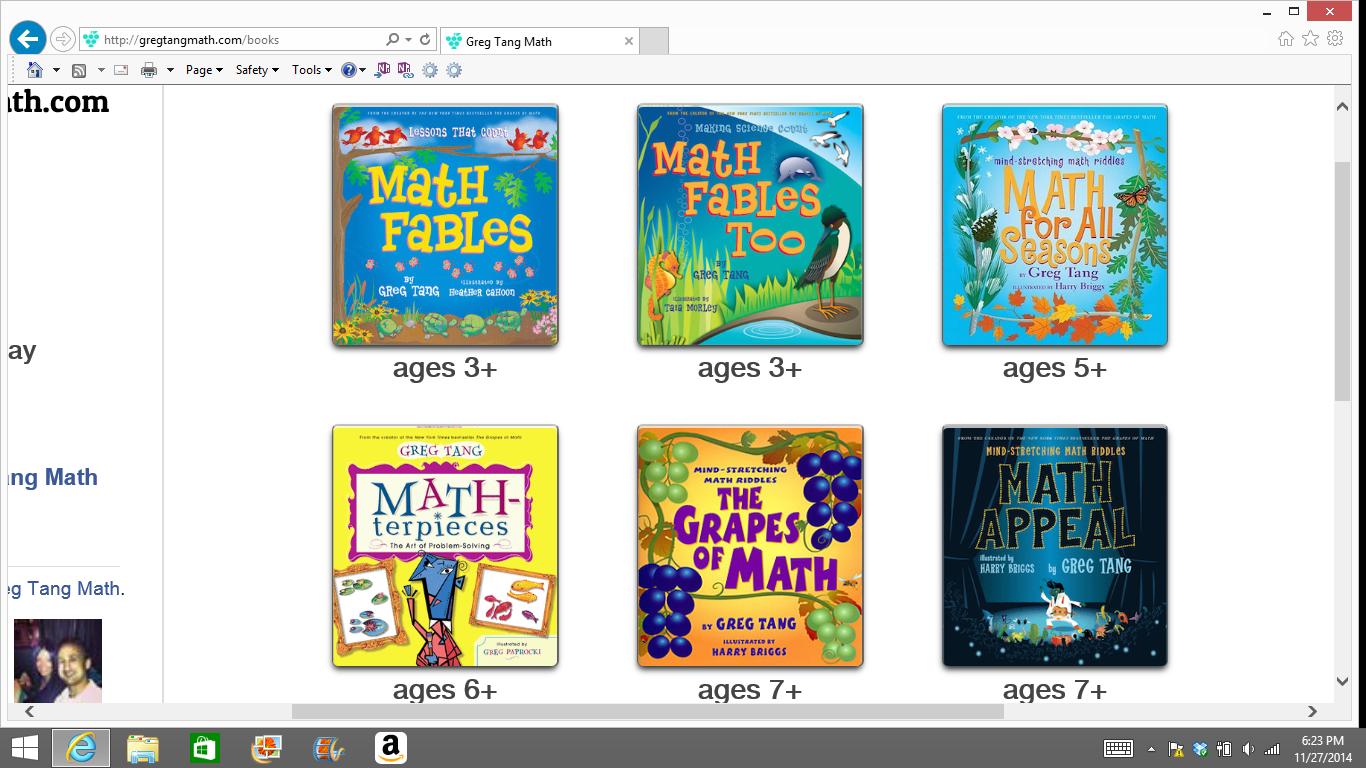 Mrs T S First Grade Class Greg Tang Math Resources